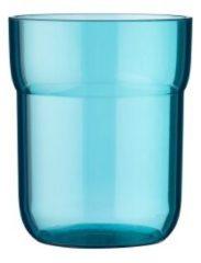 Groene Mepal waterglas kinderglas Mio 250 ml - deep turquoise