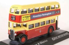 Corgi Edition Atlas - AEC Regent - Brighton Hove & District - Dubbel dekker bus 1:76