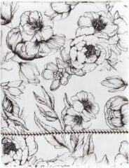 Witte Mies & Co - Wieglaken - Katoen - 80 x 100 cm - Bumble Love