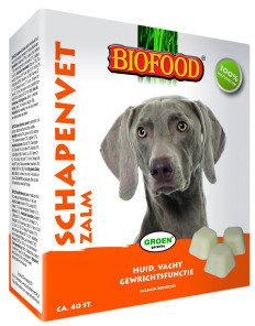 Afbeelding van Biofood Schapenvet - Hondensnacks - Zalm Vet 40 stuks - Hondenvoer