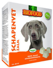 Biofood Schapenvet - Hondensnacks - Zalm Vet 40 stuks - Hondenvoer