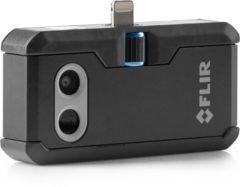Zwarte FLIR ONE PRO iOS Warmtebeeldcamera -20 tot +400 °C 160 x 120 pix 8.7 Hz