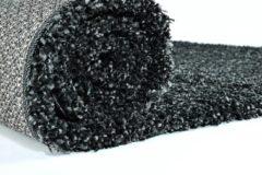 Antraciet-grijze Impression Himalaya Shaggy Hoogpolig Deluxe Vloerkleed Antraciet - 120x170 CM