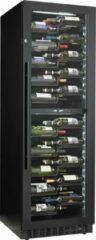Zwarte Le Chai PRO1200B - Veelzijdige wijnklimaatkast -120 Flessen - 2 Temperatuurmodel