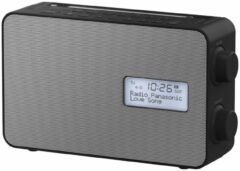 Panasonic RF-D30BTEG-K Kitchen radio DAB+, FM DAB+, FM, Bluetooth, AUX Alarm clock, splashproof Black