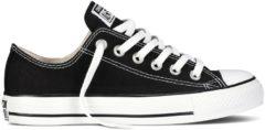 Zwarte Converse Chuck Taylor All Star OX - Sneaker - Unisex - Zwart - Maat 36.5 - M9166C - Black