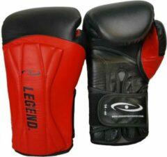 Legend Sports Bokshandschoenen Power Special Zwart/rood Mt 14oz