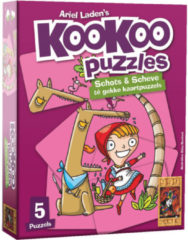 999 Games puzzel KooKoo Puzzle: Sprookjes karton 24 stukjes
