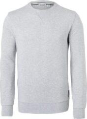 Bjorn Borg Björn Borg crew neck sweater sweatshirt (dik) - lichtgrijs melange - Maat: XXL