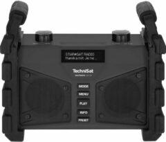 TechniSat DIGITRADIO 230 OD Bouwradio DAB+, FM AUX, Bluetooth, USB Herlaadbaar, Waterdicht, Spatwaterbestendig, Stofdicht Zwart