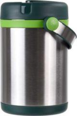 EMSA Mobility Isolier Speisegefäß 1,2 L Edelstahl/grün-hellgrün