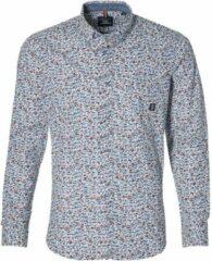 Lerros Overhemd - Modern Fit - Blauw - 5XL Grote Maten