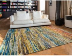Louis de Poortere - 8871 Sari My Riad Vloerkleed - 170x240 cm - Rechthoekig - Laagpolig Tapijt - Modern - Meerkleurig