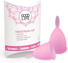 Roze GOODLIFE products GOODLIFE Menstruatiecup - Herbruikbaar – Maat S