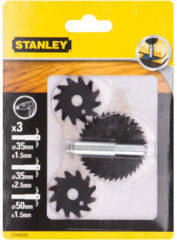 Stanley set gleuvenzagen