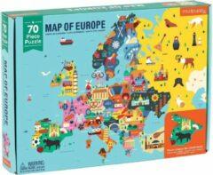 Galison Puzzel Kaart Van Europa | Mudpuppy