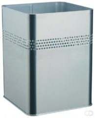 Durable Waste basket metal square 18,5, P 30 mm