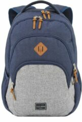 Travelite Basics Backpack Melange navy/grey backpack