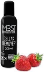 Transparante Mega Beauty Shop® Gellak remover (200 ml) met aardbeiengeur