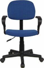 Blauwe Interieurs online Bureaustoel Milo Blu