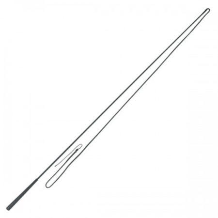 Afbeelding van Zwarte Longeerzweep fiberglas, 1-delig, 180cm