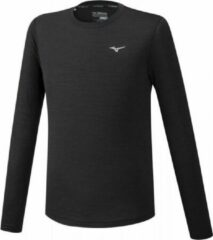 Mizuno Impulse Core LS Shirt Heren - Zwart - maat XXL