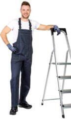 Antraciet-grijze Wisent Work Wear Tailleband broek kleur antraciet, maat 52