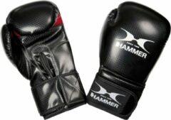 Hammer Boxing Bokshandschoenen X-SHOCK - PU - Zwart/Rood - 12 OZ - PU