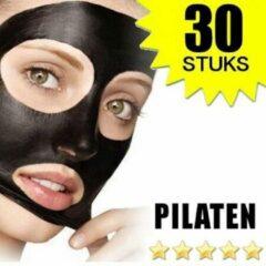 30 x Blackhead Masker Strips Deluxe | Pilaten | Mee eters verwijderen dankzij het Zwarte masker | Nu met Gratis Dermarolling.nl Coupon
