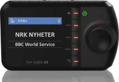 Zwarte Tiny Audio C5 DAB+ Carkit adapter met bluetooth