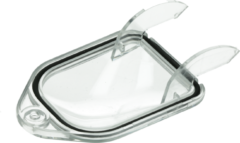 Siemens Lampenabdeckung 112x61x29mm (Kalotte für die Trockner-Lampe, viereckig) 183857, 00183857