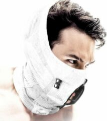 Witte NAROO Z9H - Sportmasker - Wintersport - Wasbaar - Anti-fog - Anti Bril Beslaan - Anti Condens - Bivakmuts - Balaclava - Masker - Muts