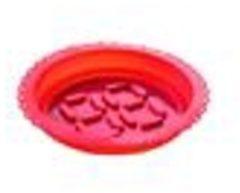 Rode E-my Dessert Roundy - Bakvorm - Siliconen - Rood