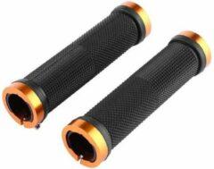 MTB Cycling MTB handvatten 130mm strong GRIP - met lock bevestiging - Goud kleur