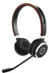 Jabra Evolve 65 MS Telefoonheadset Bluetooth Draadloos On Ear Zwart, Zilver