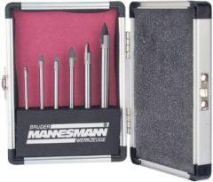 Brüder Mannesmann 54806 Glas- en keramiekborenset 6-delig Cilinderschacht 1 set(s)