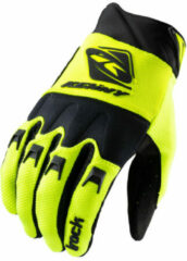 Gele Kenny Kids Track Gloves fietshandschoenen