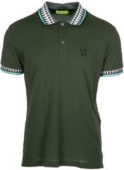 Verde Versace Jeans Polo t-shirt maglia maniche corte uomo