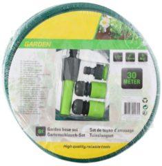 Gartenschlauch-Set HTI-Line Grün