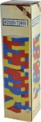 Braet Grote Toren Kleuren - Hout - 29x7,5x7,5 Cm