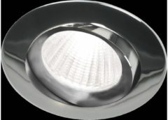 Ben Oval LED inbouwspot Chroom