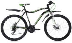 26 Fully Mountainbike 21 Gänge Phalanx KS Cycling schwarz-grün