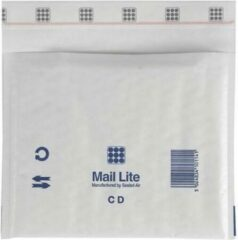 Witte Mail Lite Luchtkussenenvelop MailLite C/DVD wt/100