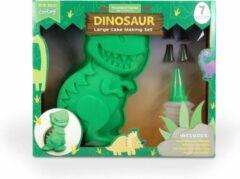 Groene Handstand Kitchen Dinosaurus Bakvorm Set