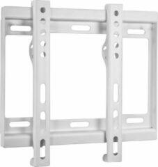 Witte DELTACO ARM-519 Universele TV Wandsteun, Geschikt voor TV's van 23 t/m 42 inch, max. 40kg
