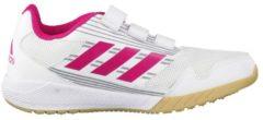Rosa Laufschuhe AltaRun CF K mit Klettverschluss BA9420 adidas performance ftwr white/bold pink/mid grey s14