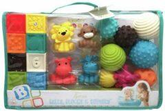 Infantino Speelset met blokken, ballen en dierenvriendjes (20 st.)