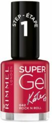 Rimmel London Rimmel SuperGel Nailpolish by Kate 042 Rock n Roll 12 ml