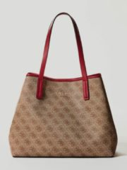 Marrone Guess Shopper Vikky Logo