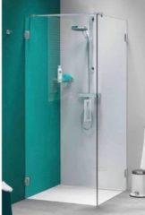 Get Wet by Sealskin I AM Draaideur 90x90x200cm met zijwand Chroom zilver hoogglans 8mm helder glas met antikalk IK180906335100